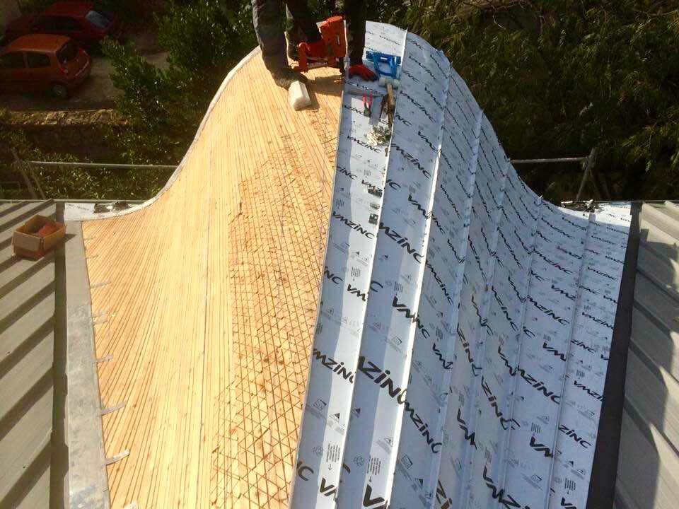 Zinguerie de toiture